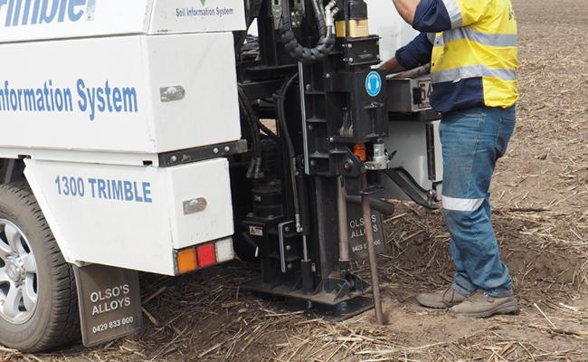 System informacji o glebie Trimble Ag